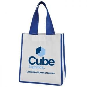 Mini COntrast Shopper Bag - Totally Branded