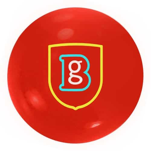 Promotional Red Bouncy Balls personalised with logo - Totally Branded