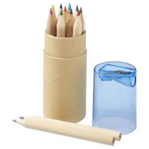Hef 12 Piece Coloured Pencil Set - Totally Branded