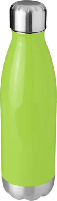 Personalised Lime Green Vacuum Insulated Metal Bottles