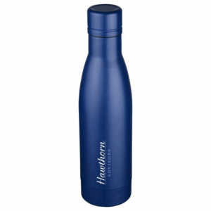 Vasa Copper Vacuum Insulated Bottle keeping drinks hot or cold for longer.