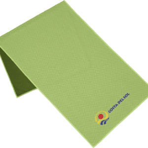 Alpha Fitness Towel Lime - Totally Branded