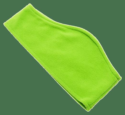 Fleece Ear Warmers Green - Totally Branded