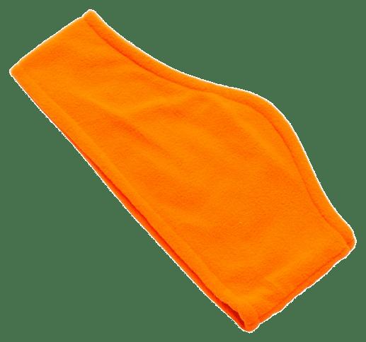 Fleece Ear Warmers Orange - Totally Branded