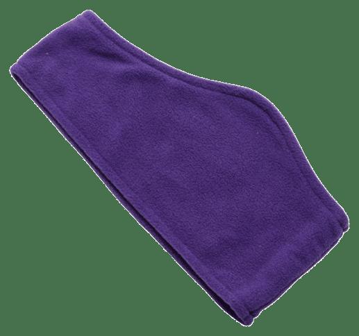 Fleece Ear Warmers Purple - Totally Branded