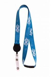 20mm Lanyard With Badge Reel - Totally Branded