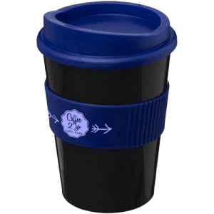 Americano® Medio 300ml Tumbler with Grip Blue/B - Totally Branded