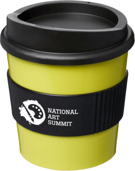 Americano® Primo 250ml Tumbler with Grip Lime/B - Totally Branded