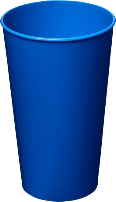 Arena Plastic Tumbler Blue - Totally Branded