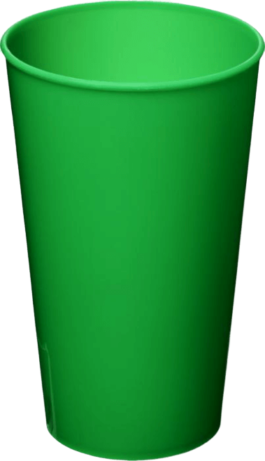 Arena Plastic Tumbler Green - Totally Branded