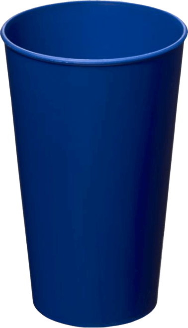 Arena Plastic Tumbler Mid Blue - Totally Branded