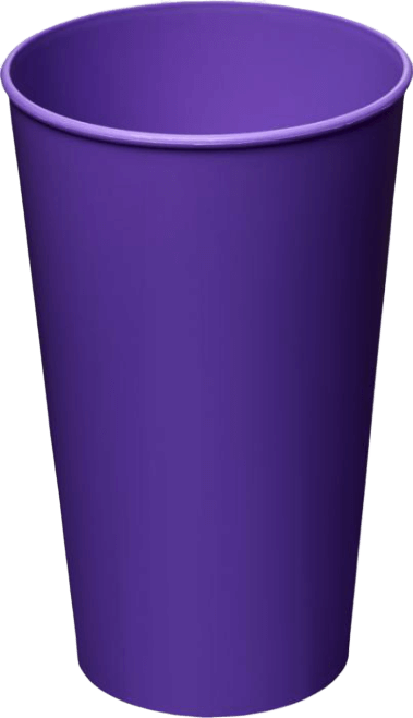 Arena Plastic Tumbler Purple - Totally Branded