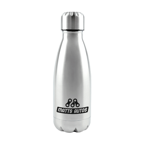 Ashford Water Bottle Silver - Totally Branded
