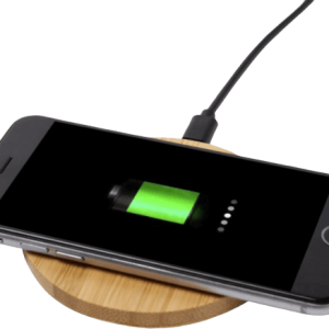 Bamboo Wireless Charging Pad - Totally Branded
