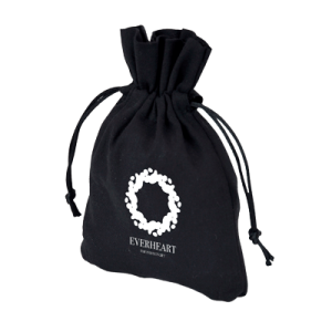 Branded Cotton Drawstring Pouch - Totally Branded