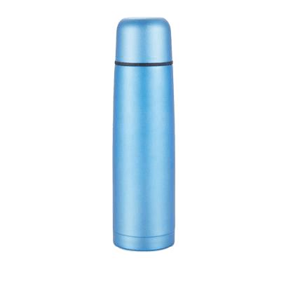 Branded Stainless Steel Flask Blue - Totally Branded