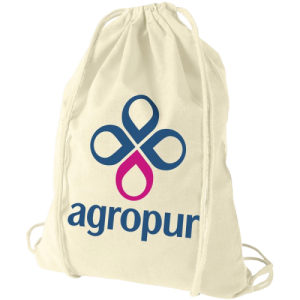 Cotton Drawstring Bag Natural - Totally Branded