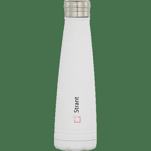 Duke Copper Vacuum Insulated Bottles White - Totally Branded