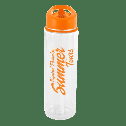 Evelyn Water Bottle Amber - Totally Branded