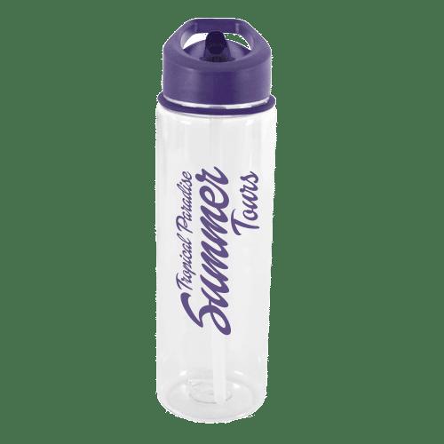Evelyn Water Bottle Purple - Totally Branded