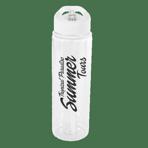 Evelyn Water Bottle White - Totally Branded