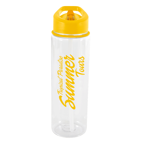 Evelyn Water Bottle Yellow - Totally Branded