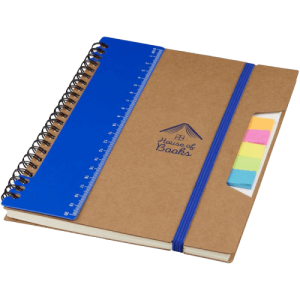 Josie A5 Recycled Notebook Blue - Totally Branded