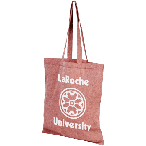 Pheebs Recycled Cotton Tote Bag Red - Totally Branded