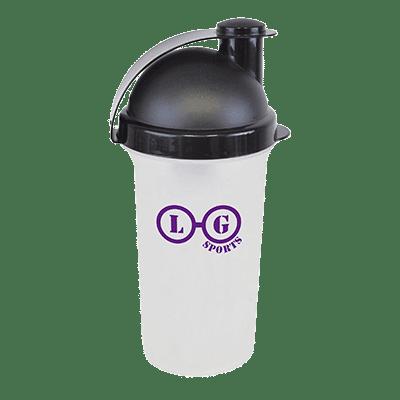 Plastic Shaker Black - Totally Branded