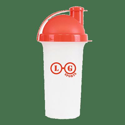 Plastic Shaker Red - Totally Branded