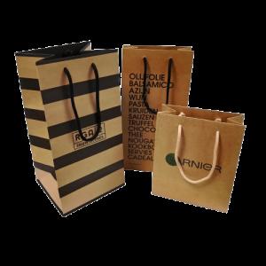 Kraft Brown Bags - Totally Branded