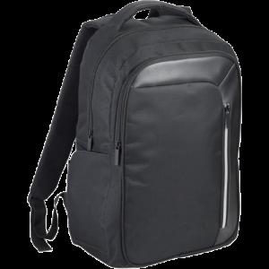 "Vault RFID 15.6"" Laptop Backpack Black - Totally Branded"