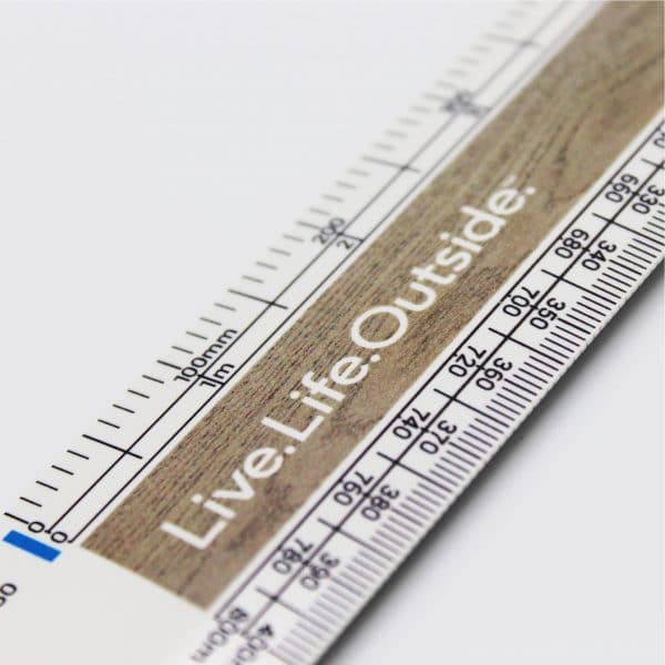 320mm Scale Ruler Close - Totally Branded
