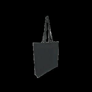 8oz Black Cotton Canvas Bag - Totally Branded