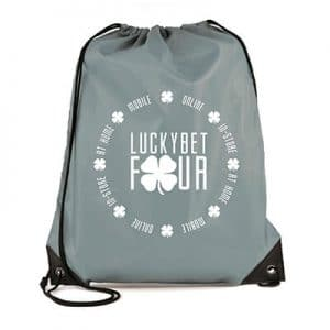 Branded Promotional Pegasus Plus Drawstring Bags