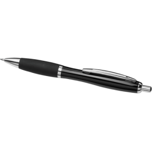 Curvy Metal Ball Pen Black - Totally Branded