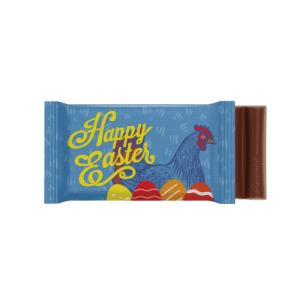 Easter 6 Baton Chocolate Bar - Totally Branded