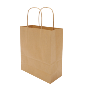 Medium Hardwick Kraft Paper Gift Bag Brown - Totally Branded