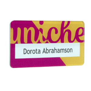 Reusable Window Name Badges - Totally Branded