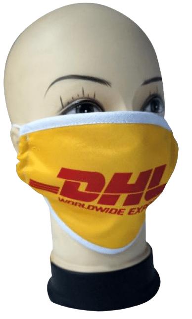 Printed Logo Face Masks - Virus Protective Logo Masks