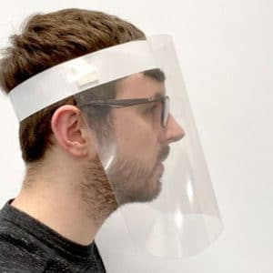 Protective Face Visors - Face Protection Visor - Totally Branded