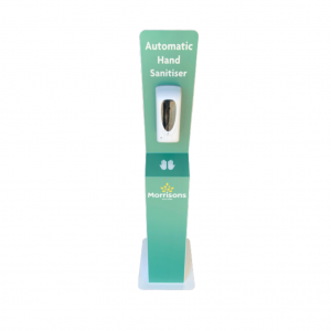 Branded Automatic Hand Sanitiser Dispenser