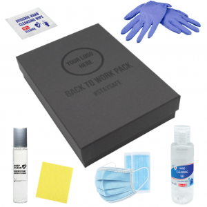 Branded Back to work hygiene Packs