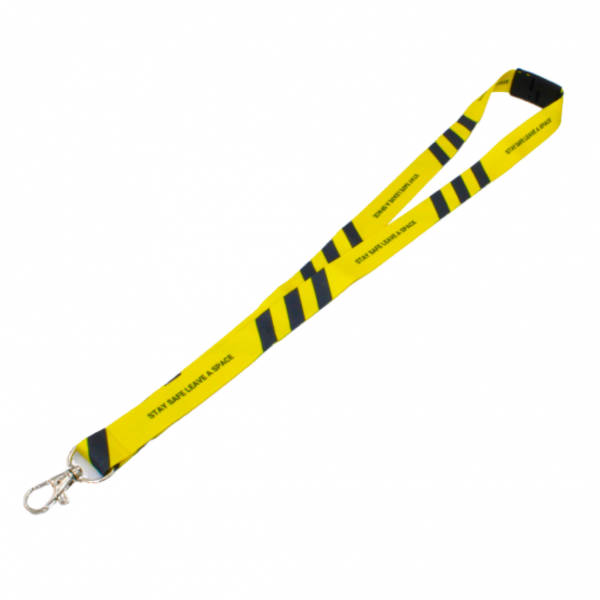 COVID-19 Distancing Lanyards - Totally Branded