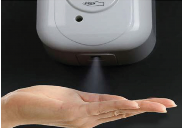 Branded Automatic Hand Sanitiser Dispenser
