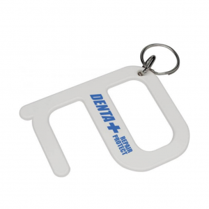 Branded Hygiene Key in White