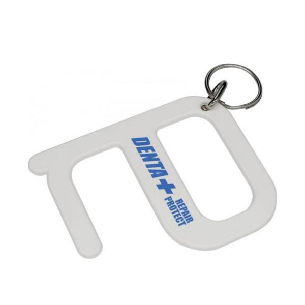 Branded Hygiene Key in White