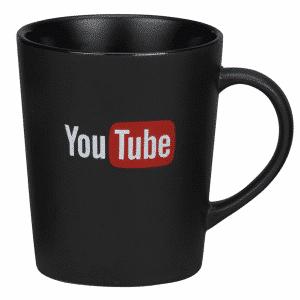 Matt Black Metro Mug - Totally Branded