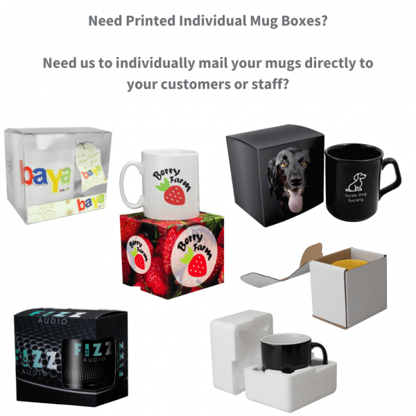 Promotional Mugs Packaging Options