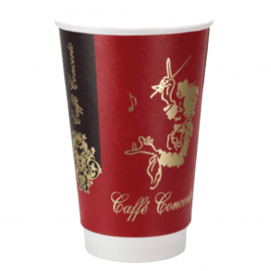 16oz Double Walled Paper Cup